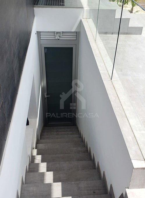 15 Demos House Basement Stairs_