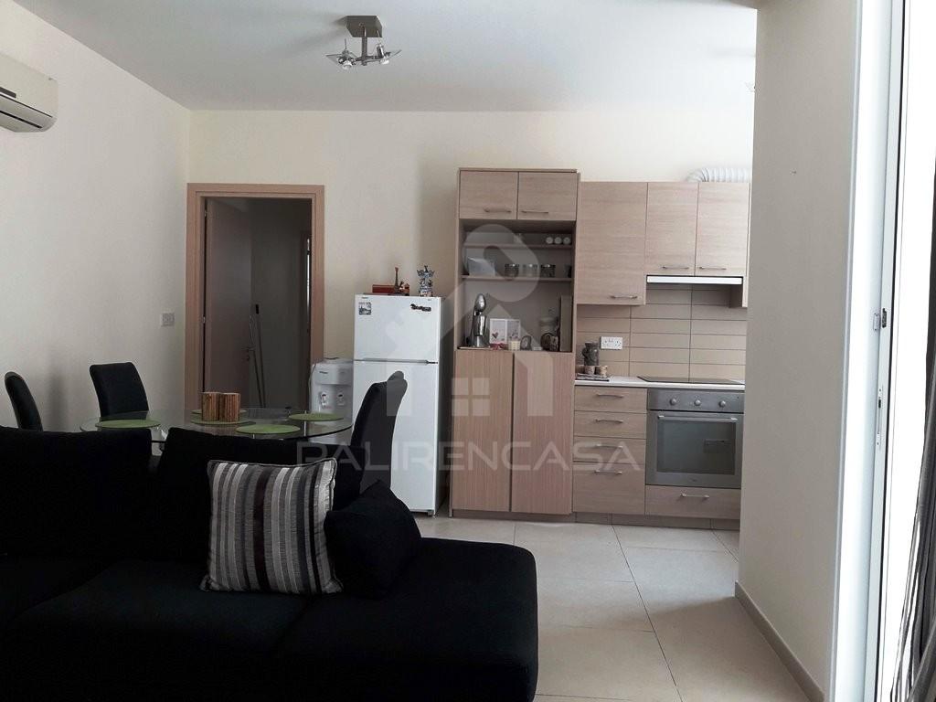 1-Bedroom Ground Floor Apartment in Latsia