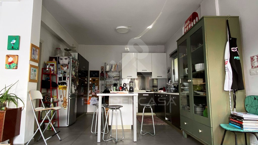 kitchen low angle
