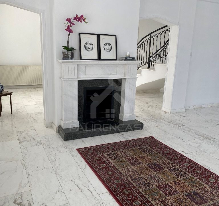 17 Formal Sitting Room Fireplace