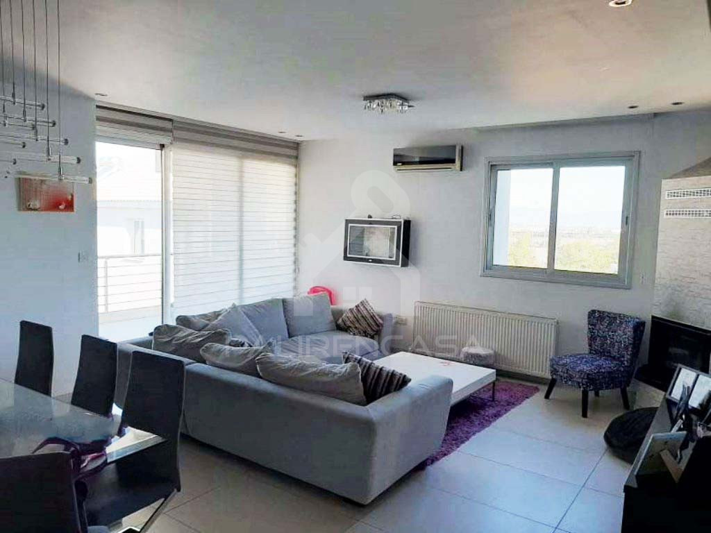 3-Bedroom Penthouse in Anthoupoli